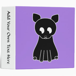 "Gato negro lindo carpeta 2"""