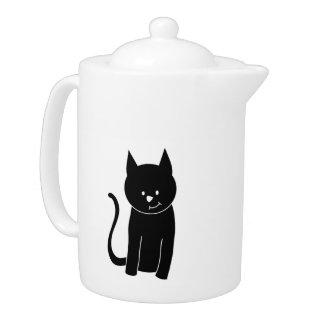 Gato negro lindo