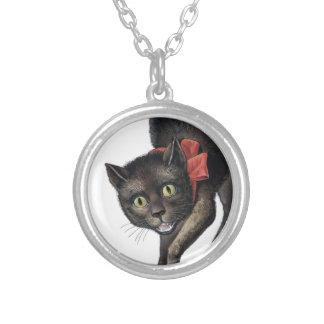 gato negro loco collar