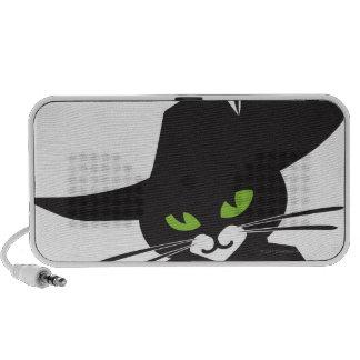 Gato negro mp3 altavoz