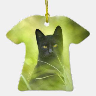 Gato negro ornamentos de reyes magos