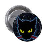 gato negro pin