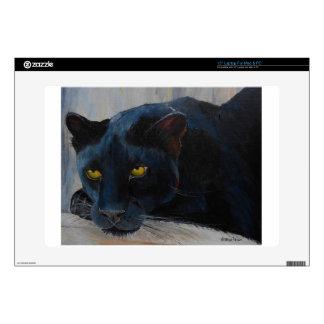 Gato negro portátil 38,1cm skins