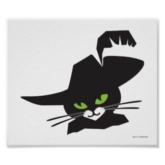 Gato negro póster