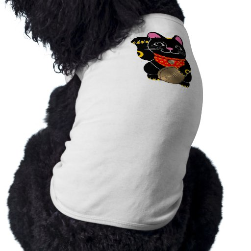 Gato negro ropa para mascota