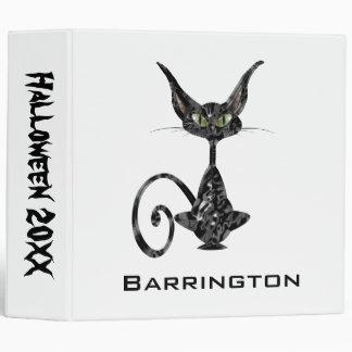 "Gato negro supersticioso carpeta 2"""