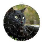 Gato negro tablero dardos