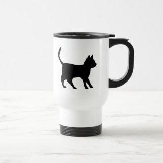 Gato negro taza