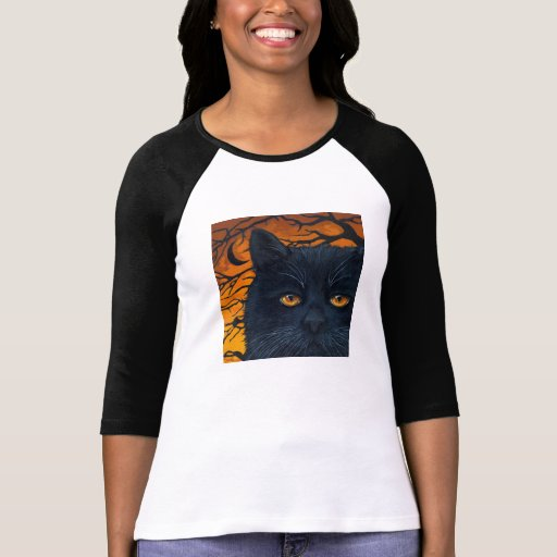 Gato negro tshirts