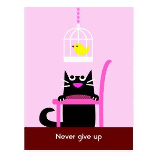 Gato negro y Birdcage