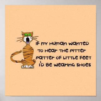Gato Niño-Libre del gatito Impresiones