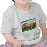 Gato noruego del bosque - país brillante camiseta