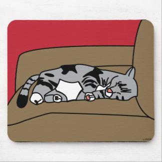 Gato Olivia Mousepad el dormir Alfombrilla De Ratones