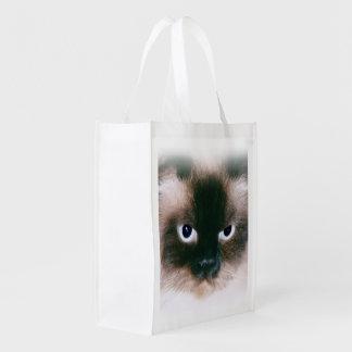 Gato orgulloso bolsa para la compra