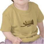 Gato pacífico camisetas