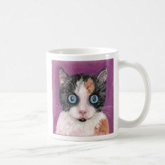 Gato para el té taza clásica