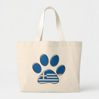 Gato patriótico griego bolsas
