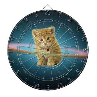 Gato perdido en espacio