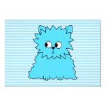 Gato persa azul lindo invitación 8,9 x 12,7 cm