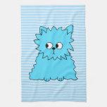Gato persa azul lindo toallas de cocina