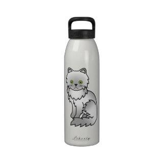 Gato persa de Chincilla Botallas De Agua