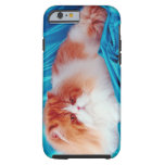 Gato persa funda para iPhone 6 tough