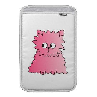 Gato persa rosado fundas macbook air