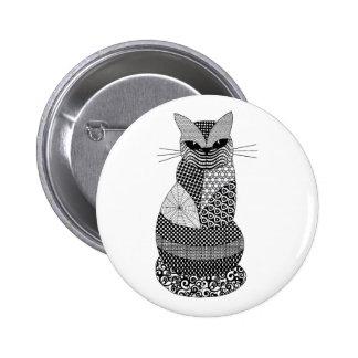 Gato Pin Redondo 5 Cm