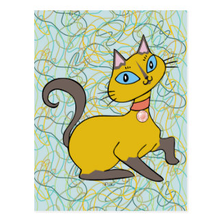 """Gato """"Pistache """" de Siames Postal"""