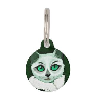 Gato Placas De Mascota