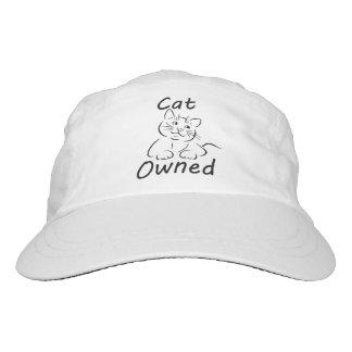 Gato poseído gorra de alto rendimiento