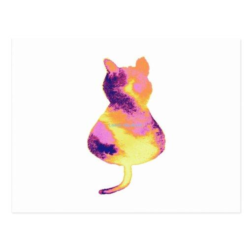 ¡Gato precioso! Tarjeta Postal