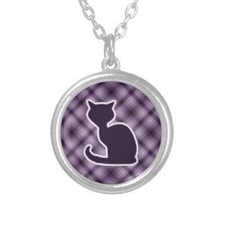 Gato púrpura colgantes