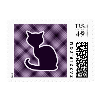 Gato púrpura sellos