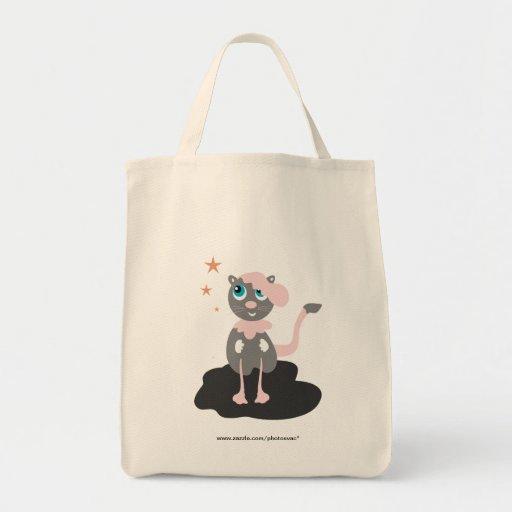 Gato que camina bolsa