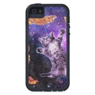 Gato que fríe el tocino con el laser del ojo funda iPhone SE/5/5s