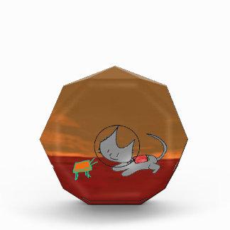 Gato que juega en Marte