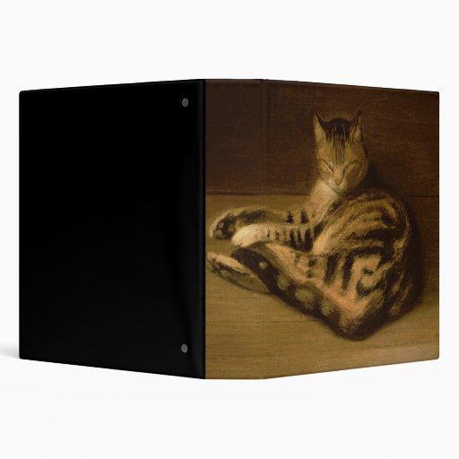 """Gato reclinado, 1898 carpeta 1 1/2"""""""