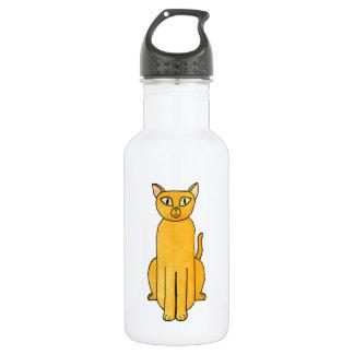Gato rojo de Shorthair del jengibre