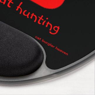 gato rojo - gel MousePad Alfombrillas De Raton Con Gel