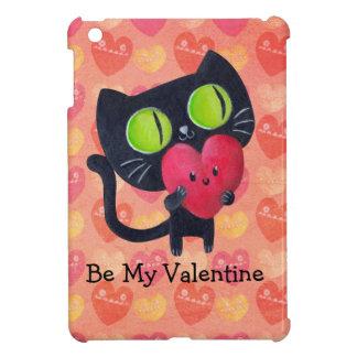 Gato romántico negro