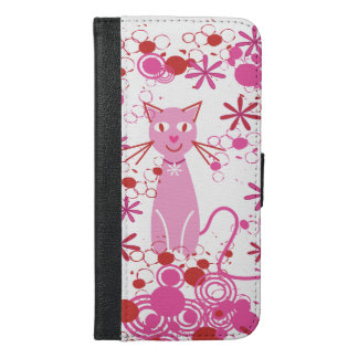 Gato rosado de lujo