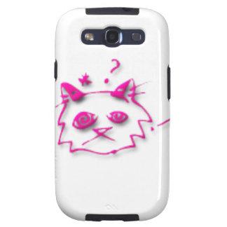 Gato rosado galaxy SIII carcasas