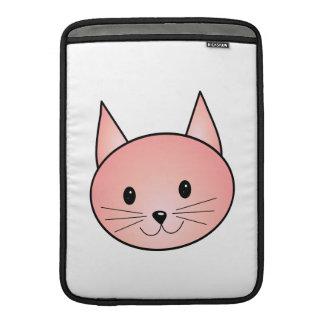 Gato rosado Gatito adorable Funda MacBook