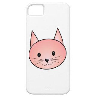 Gato rosado. Gatito adorable Funda Para iPhone SE/5/5s