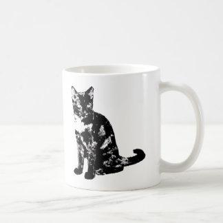 Gato salvaje del Acortar-Oído Taza De Café
