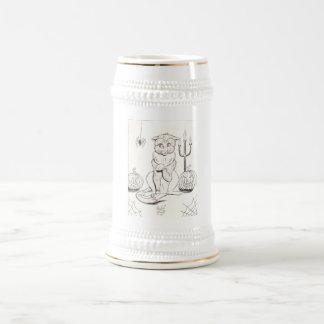 gato scardy jarra de cerveza