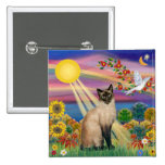 Gato siamés - otoño Sun Pin