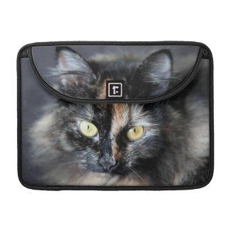 Gato siberiano funda para macbooks