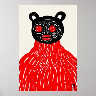 Gato sin piel póster